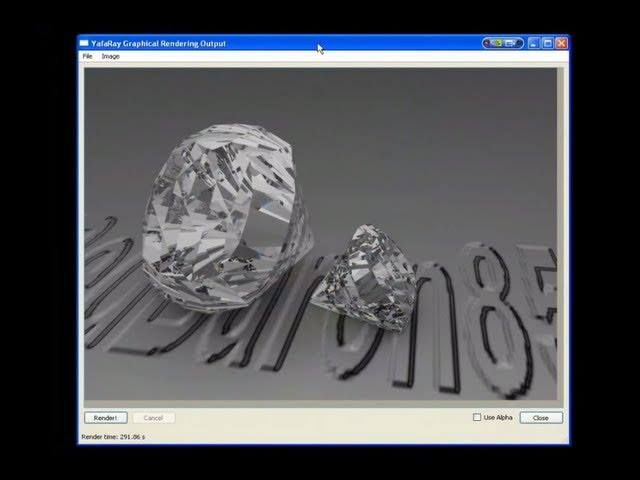 Blender e Yafaray: Diamonds are forever - Analisi scena materials rendering (con sottotitoli) - #Blender249 #Diamanti #Diamonds #Fotorealismo #Raytrace #Redbaron85 #Rendering #Videotutorial #Yafaray011 #Yafray http://wp.me/p7r4xK-e0