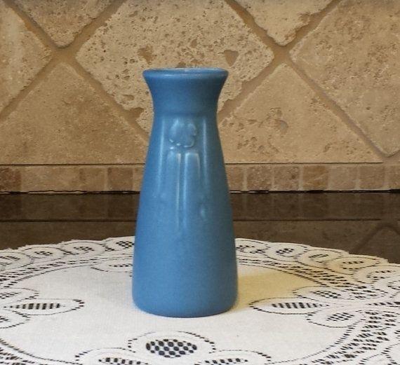 Vintage ROOKWOOD c1925 Blue Vase-XXV Rookwood Number 2125