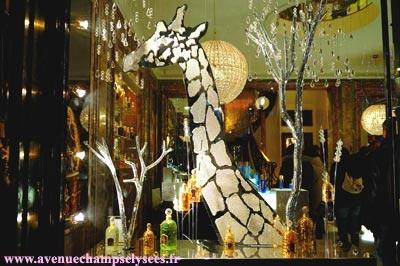 Guerlain Boutique on the Champs Elysées