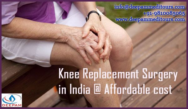 Knee replacement surgery in India Connect with Deepam Meditours & explore the excellent service provided by us... for more information -->> http://goo.gl/nMc9hG  ‪#‎kneeReplacementSurgery‬ ‪#‎KneeJointPain‬ ‪#‎KneeReplacement‬ ‪#‎TKR‬