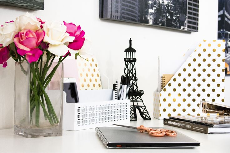 Blu Monaco Designer White Desk File and Mail Organizer – Two Tiers for Storage – Fits a Standard File Horizontally – Keeps Mail, Bills, and Files Organized