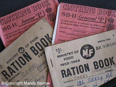 Ration books