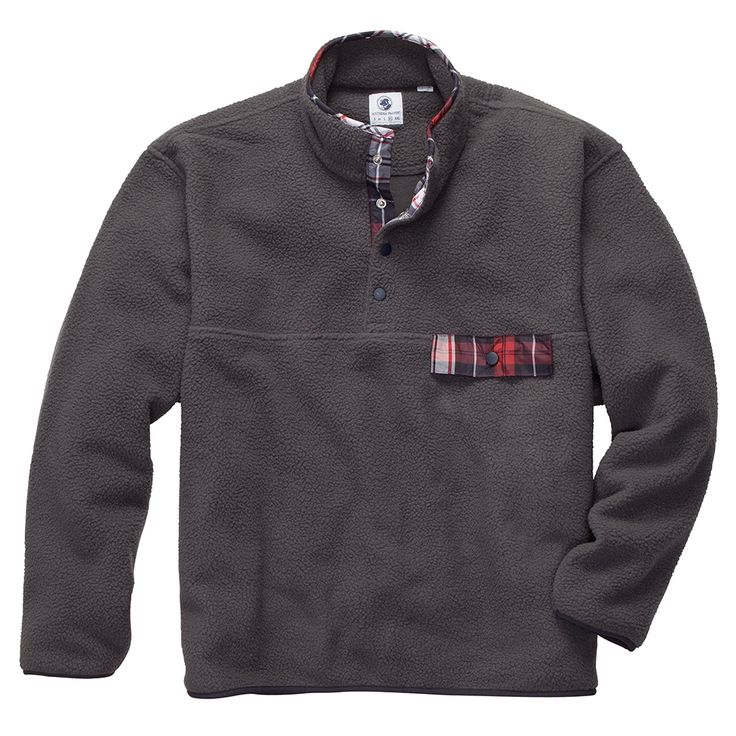 Southern Proper All Prep Pullover // Grey