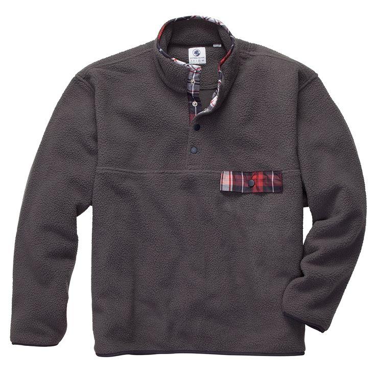 Southern Proper All Prep Pullover // Grey