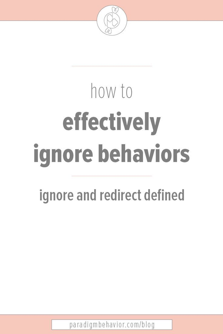 Need clarification on what it means to ignore and redirect? This phrase is used all the time in ABA and certainly needs a further explanation. In this post, you'll find where the phrase comes from and examples of how it can be applied.