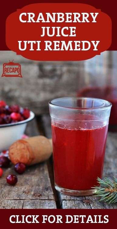 what to drink for uti