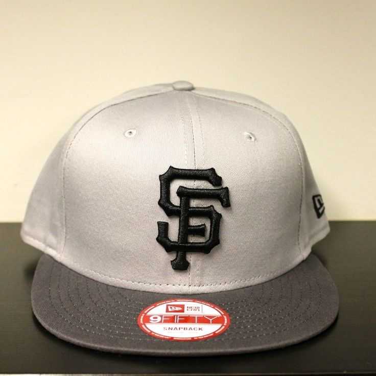 New Era 'Contrast' San Fransico Giants 9Fifty Snapback - Grey/BlackSnapback Closure