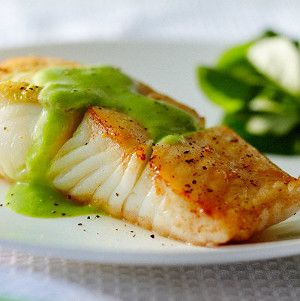 Grilled halibut with tomato herb vinaigrette