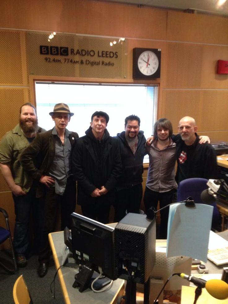 Meeting Marc Almond BBC Radio Leeds