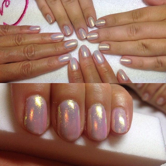 ❤️#manicure #hybryda #syrenka #glitter #gold #beautyfull  #style ⭐️⭐️⭐️⭐️⭐️#barberwilanow #salonurody #beautysalon