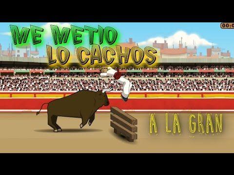 Los Toros de Pamplona Bonito Video Juego Gampelay