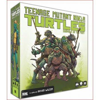 TORTUGAS NINJA JUEGO DE MESA (INGLES). Juego en inglés.Teenage Mutant Ninja Turtles: Shadows of the Past is a miniatures combat, scenario-driven