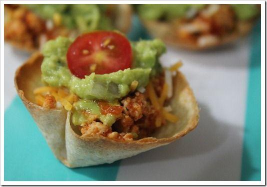 Gluten Free Taco Bites