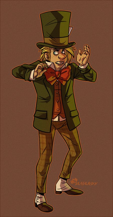 Jervis Tetch-Mad Hatter by SeaGerdy
