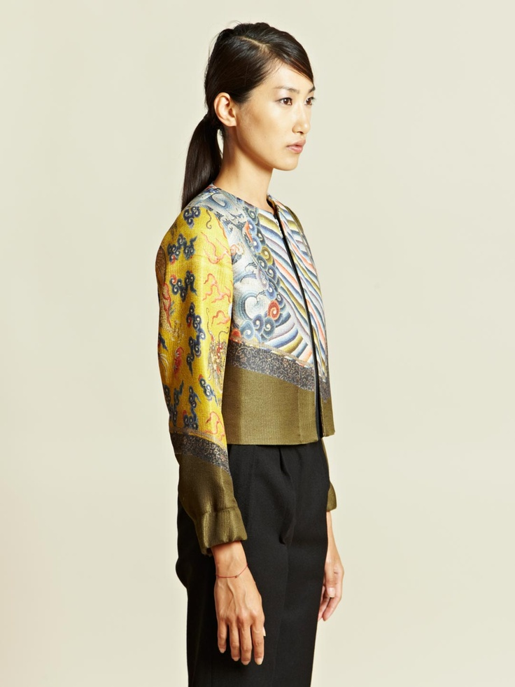 Dries Van Noten Women's Batik Jacket | LN-CC