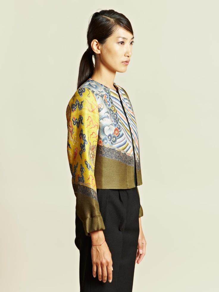 Dries Van Noten Women's Batik Jacket   LN-CC