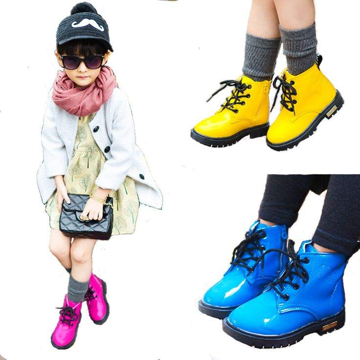 Aercourm A New Kids Winter Boots Children Leather Shoes Girls Boots Boys Sports Shoes Girls Boys Sneakers Black Red Yellow 21-36 #>=#>=#>=#>=#> Click on the pin to check out discount price, color, size, shipping, etc. Save and like it!