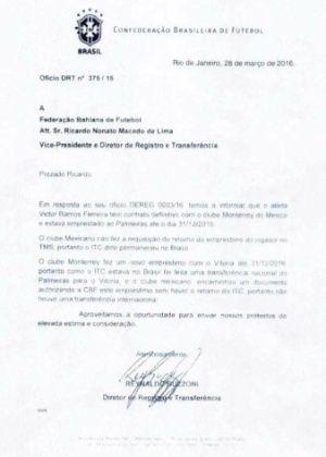 """Vitória 'ignora' possível denúncia do Internacional: """"já comprovamos tudo"""""""