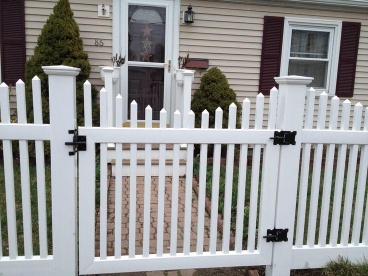 #vinyl #white #fence white vinyl fence cost ,inexpensive diy vinyl fence