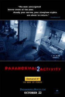 Paranormal Activity 2 (2010), Paramount Pictures, Blumhouse Productions, and Solana Films with Brian Boland, Molly Ephraim, Katie Featherston, and Sprague Grayden. Enjoyed this one nearly more than the first.