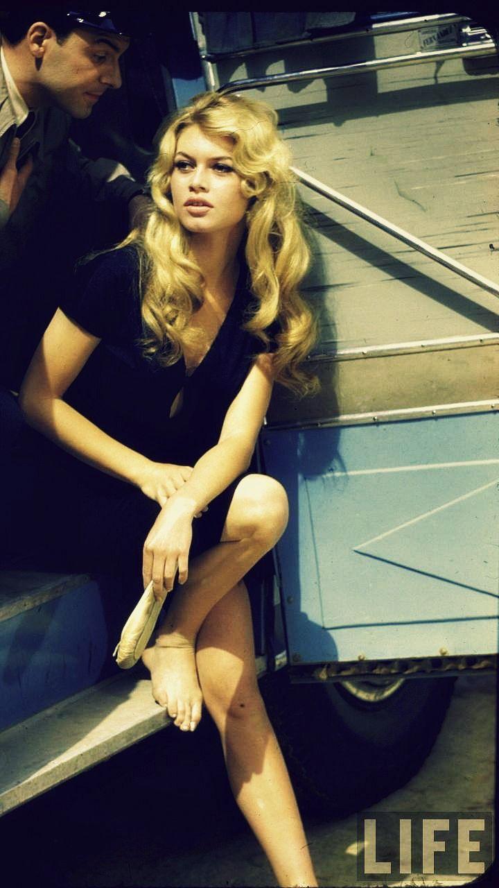 Brigitte Bardot in Spain - 1957