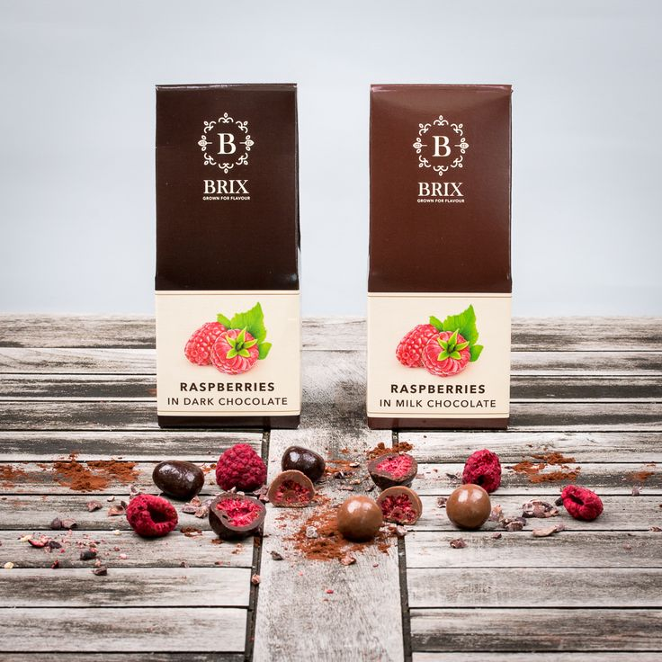 Crispy raspberries in the finest Belgian chocolate. Dark or milk chocolate.   #freeze #dried #raspberry #callebaut #luxury #delicious #chocolate #tasteisloveit #brixgrownforflavour #brixproducts