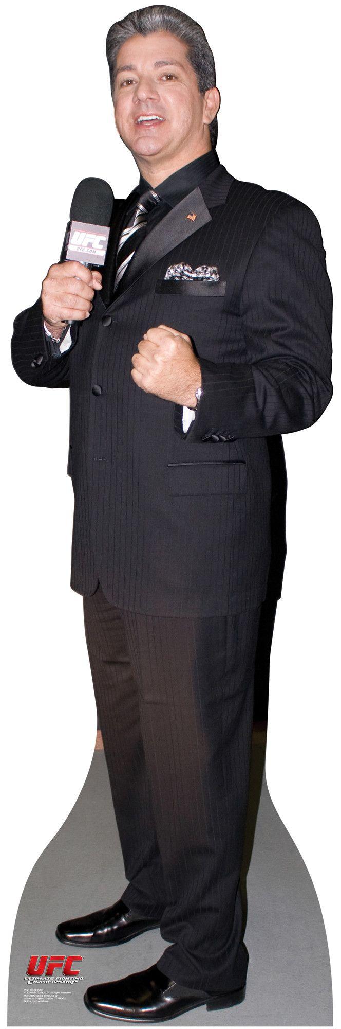 UFC Bruce Buffer Cardboard Stand-Up