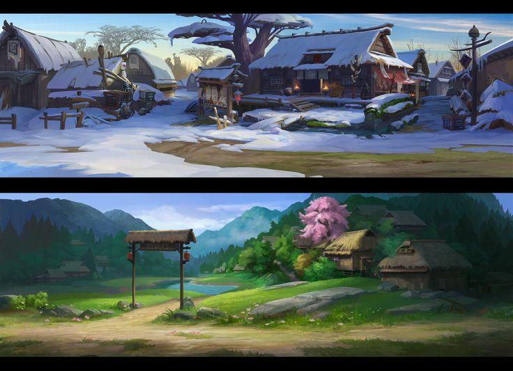 镇魂街手游, Lin —Art vision studio on ArtStation at https://www.artstation.com/artwork/4aW01