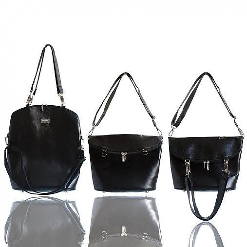 Smart Elegancy no. 33 Shiny Black by Darabags - SAShE.sk - Handmade Kabelky