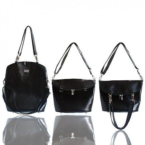Smart Elegancy no. 33 Shiny Black by Darabags - SAShE.sk - Handmade Kabelky