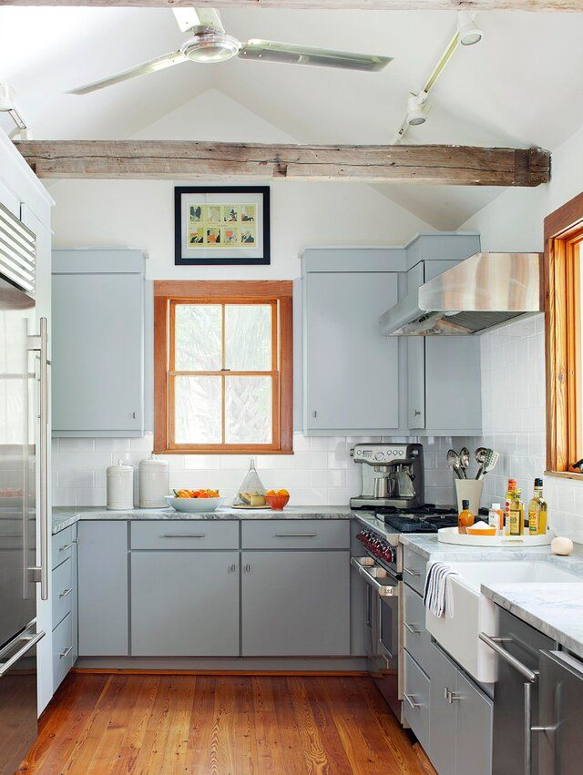 Best Rta Cabinets 2021 Vintage Kitchen Cabinets Pictures 2021 in 2020 | Blue gray kitchen