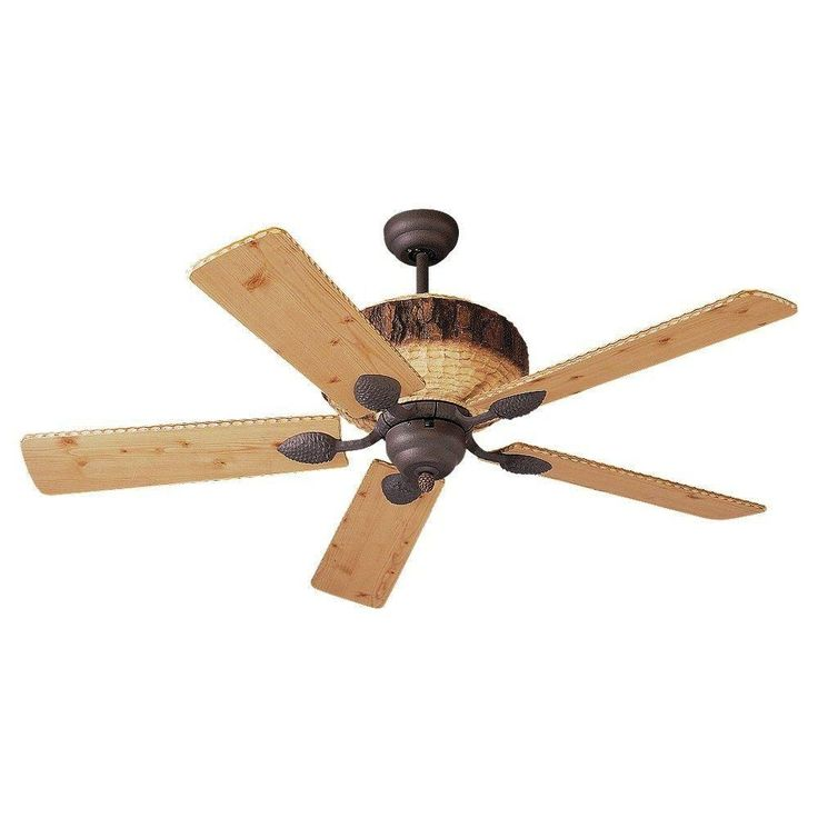 Rustic Ceiling Fans Without Lights
