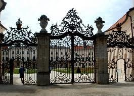 Grand Gate at Eszterhazy Castle, Hungary