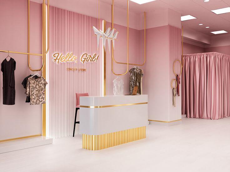Hello Girl Store on Behance