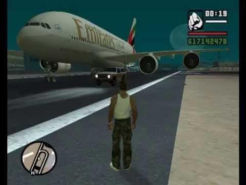 GTA San Andreas | Finding A Big Plane #GrandTheftAutoV #GTAV #GTA5 #GrandTheftAuto #GTA #GTAOnline #GrandTheftAuto5 #PS4 #games