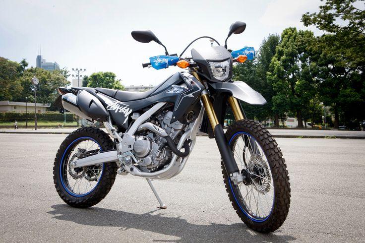Stussy x Honda CRF250L Honda, Motorbikes, Enduro motorcycle