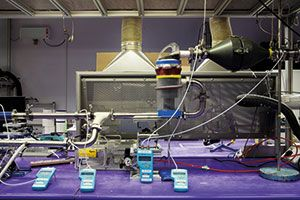 Inside Dyson's product-testing laboratory in Malmesbury, Wiltshire