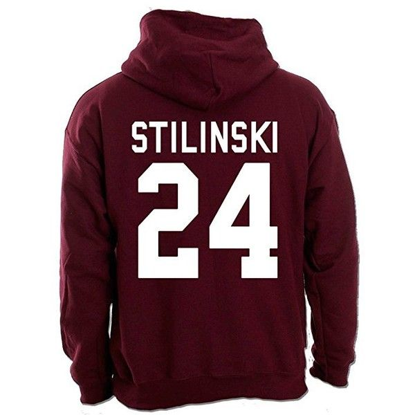 Beacon Hills Front Hoodie STILINSKI 24 Back Hoody Teen Wolf Inspired... ($11) ❤ liked on Polyvore featuring tops, hoodies, hoodie top, purple top, purple hoodie, purple hooded sweatshirt and sweatshirt hoodies