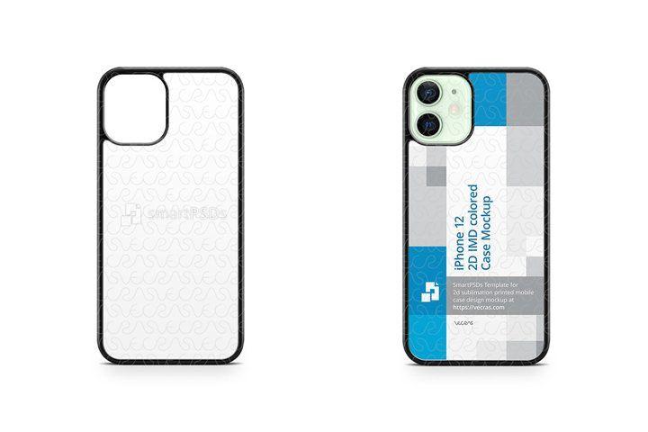 Download Iphone 12 2020 2d Pc Colored Case Design Mockup 972211 Products Design Bundles Mockup Design Iphone Mobile Mockup