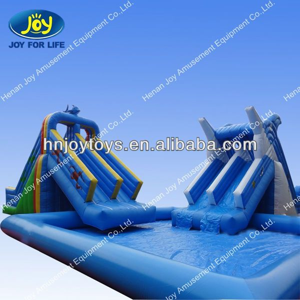 Inflatable Inground Pool Slide best 25+ inflatable water slides ideas on pinterest | blow up pool
