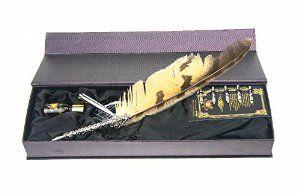 Owl Feather Fountain Pen Gift Set