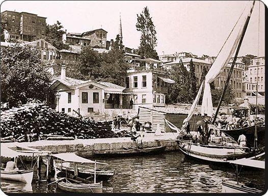 Kabataş iskelesi - 1890 lar