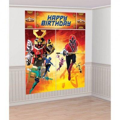 Decorative Power Rangers Samurai Birthday Party Supplies Australia and power ranger birthday party favors