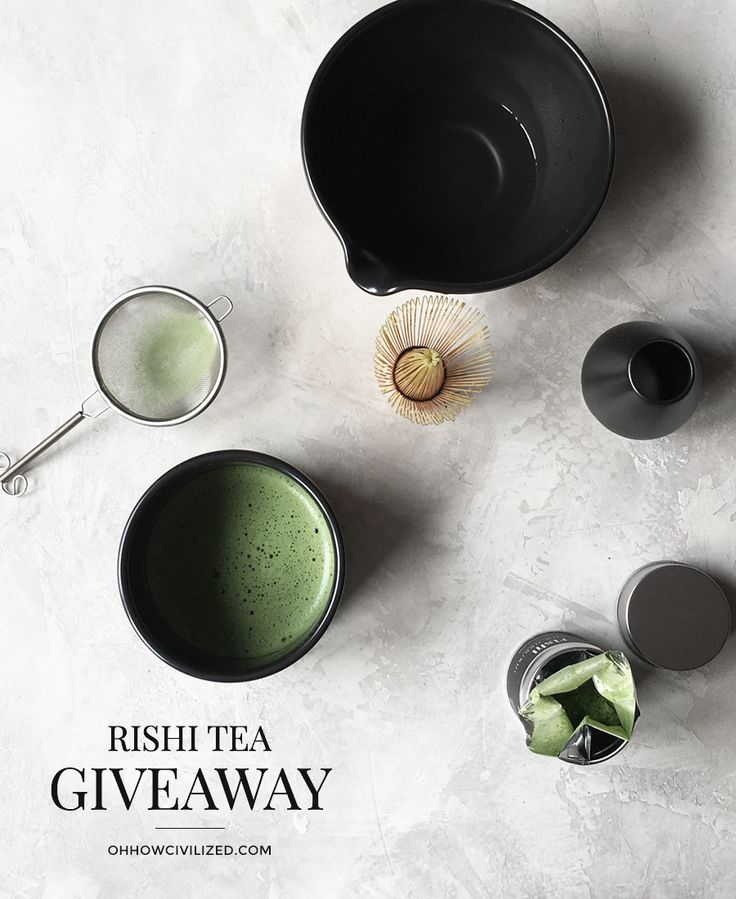 Rishi Tea Holiday Giveaway | Oh, How Civilized