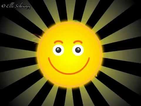 Grüße mit einem Lächeln für einen schönen Tag - YouTube