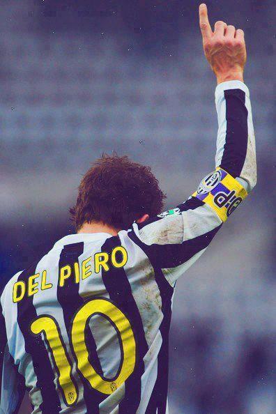 Alessandro Del Piero de oude meester van #Juventus. Del Piero was aanvalsleider…