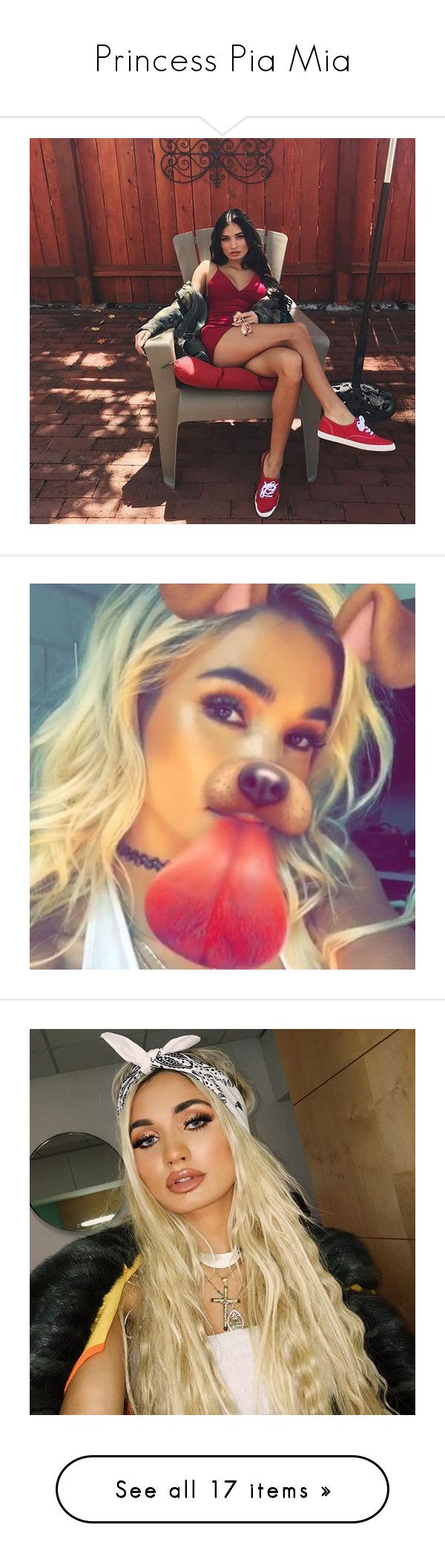 """""""Princess Pia Mia"""" by xxcrazycutexx ❤ liked on Polyvore featuring pia mia, jewelry, earrings, celebrity and people"""