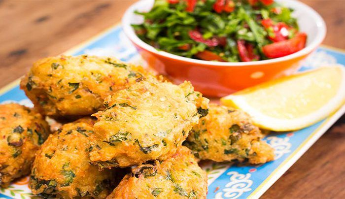 Salted Cod and Bean Fritters - Good Chef Bad Chef