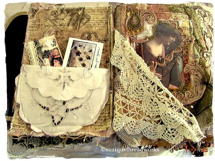 Suziqu's Threadworks: My Lacebook is Back Home with the Birth of Spring