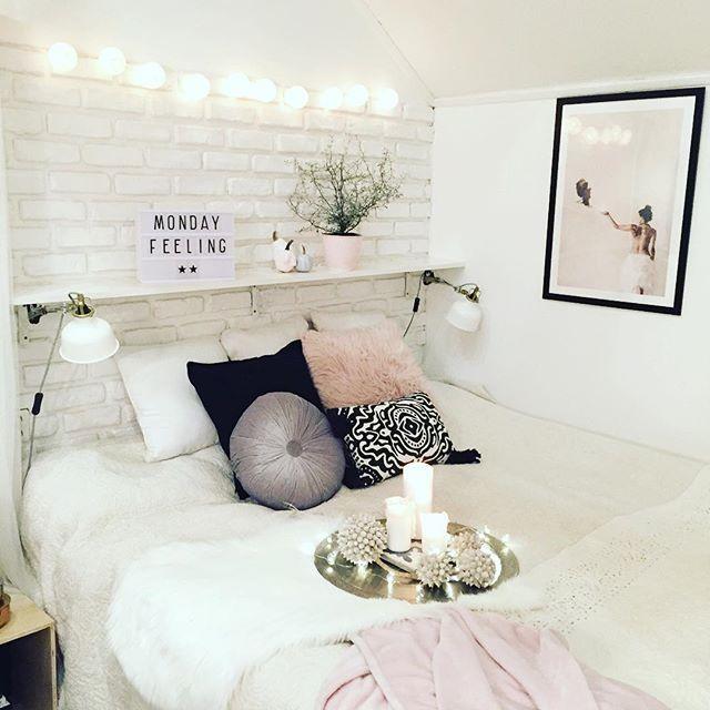 Instagram media by decoricasa - [ monday feeling ] When you just wanna stay in beed...